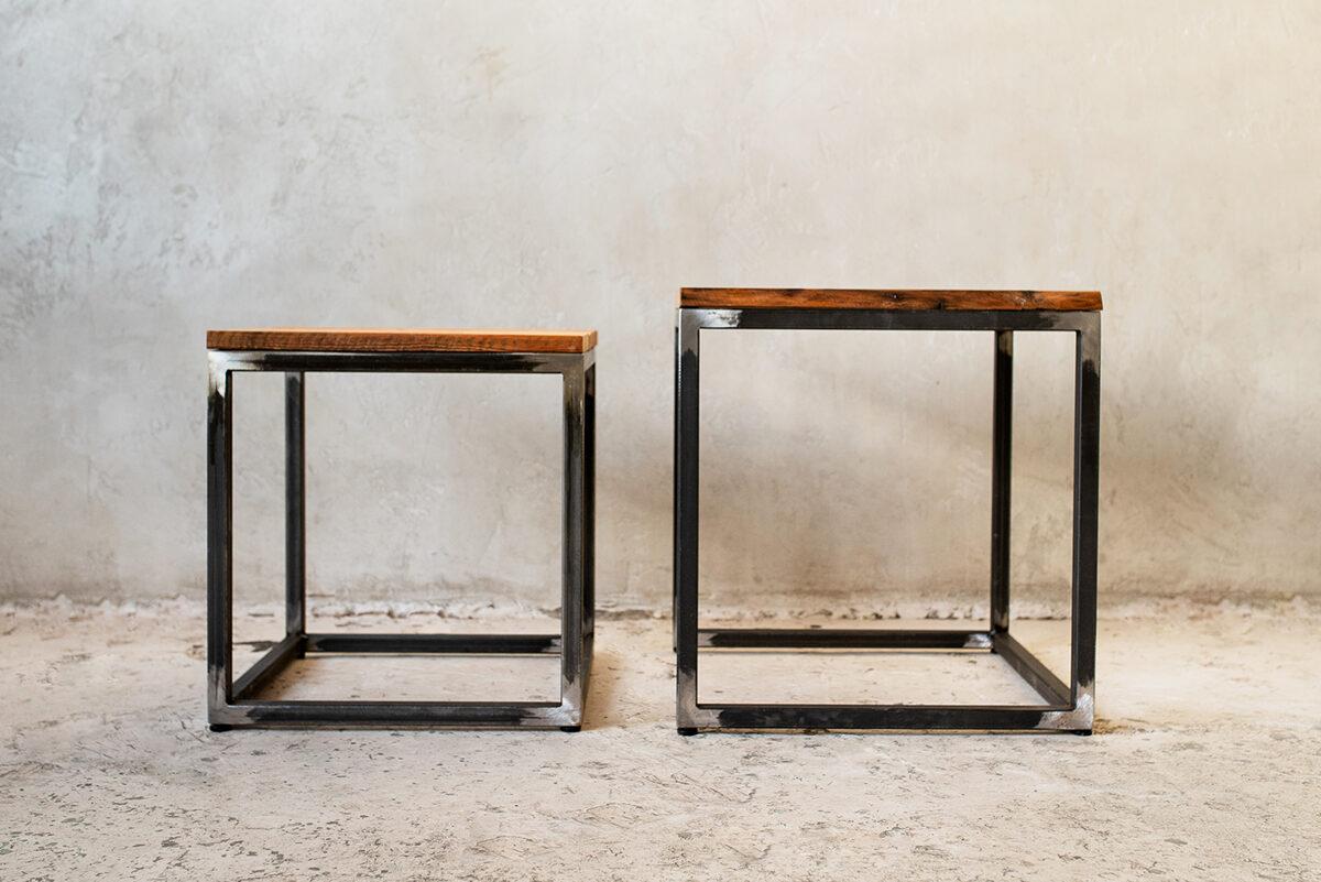 2 kafijas galdiņu komplekts